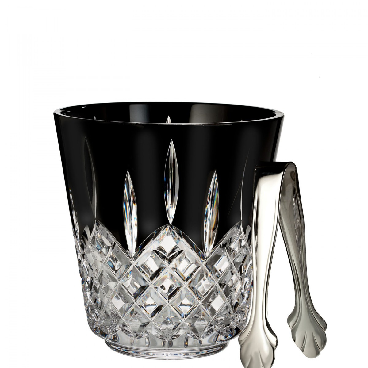 Waterford Lismore Crystal Glass Black Ice Bucket
