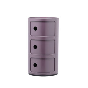 Kartell Componibili 3 Elements, Purple