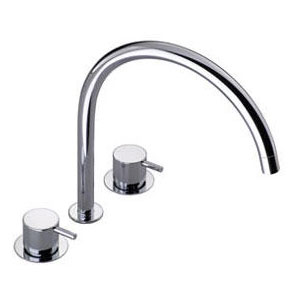 Vola w Arne Jacobsen KV15 Mixer Combination Tap