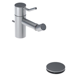 Vola w Arne Jacobsen HV4 One Handle Bidet Mixer Tap w Pop Up Waste