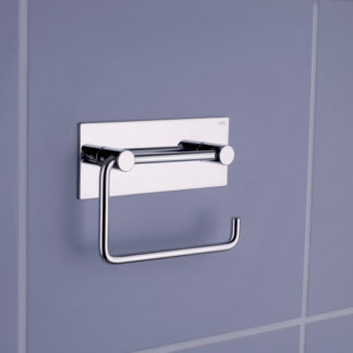 Vola Toilet Roll Holder w Back Plate Arne Jacobsen