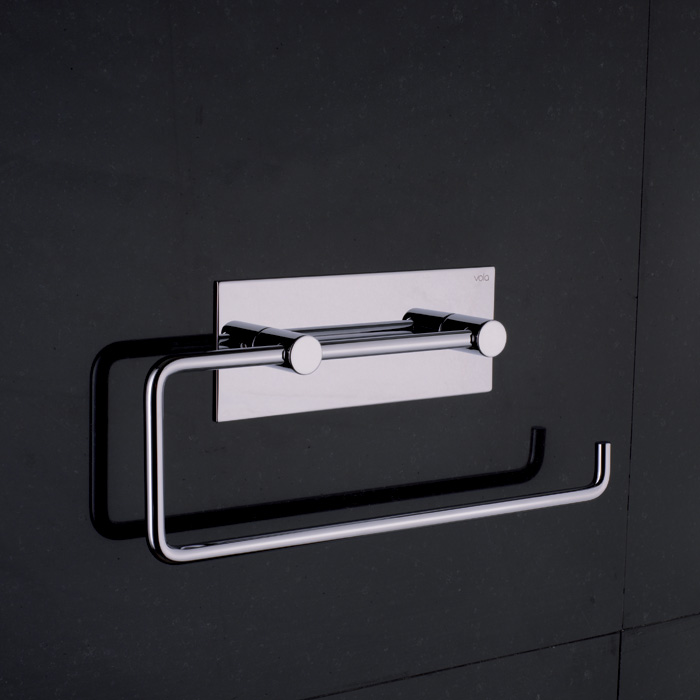 Vola Double Toilet Roll Kitchen Roll Holder w Back Plate