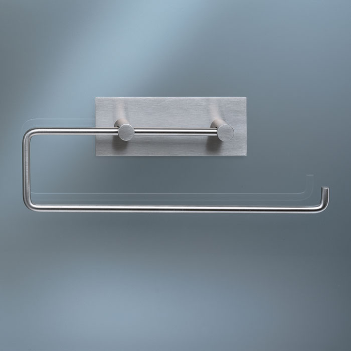 Vola Double Toilet Roll Kitchen Roll Holder W Back Plate Panik Design