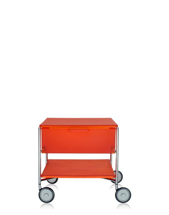 kartell mobil container 1 drawers with wheels panik design. Black Bedroom Furniture Sets. Home Design Ideas