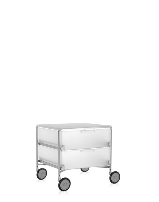 kartell mobil container 2 drawers with wheels panik design. Black Bedroom Furniture Sets. Home Design Ideas