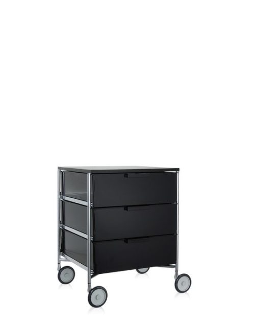Kartell Mobil Container 3 Drawers with Wheels