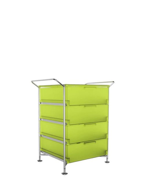 Kartell Mobil Container Handles 4 Drawers