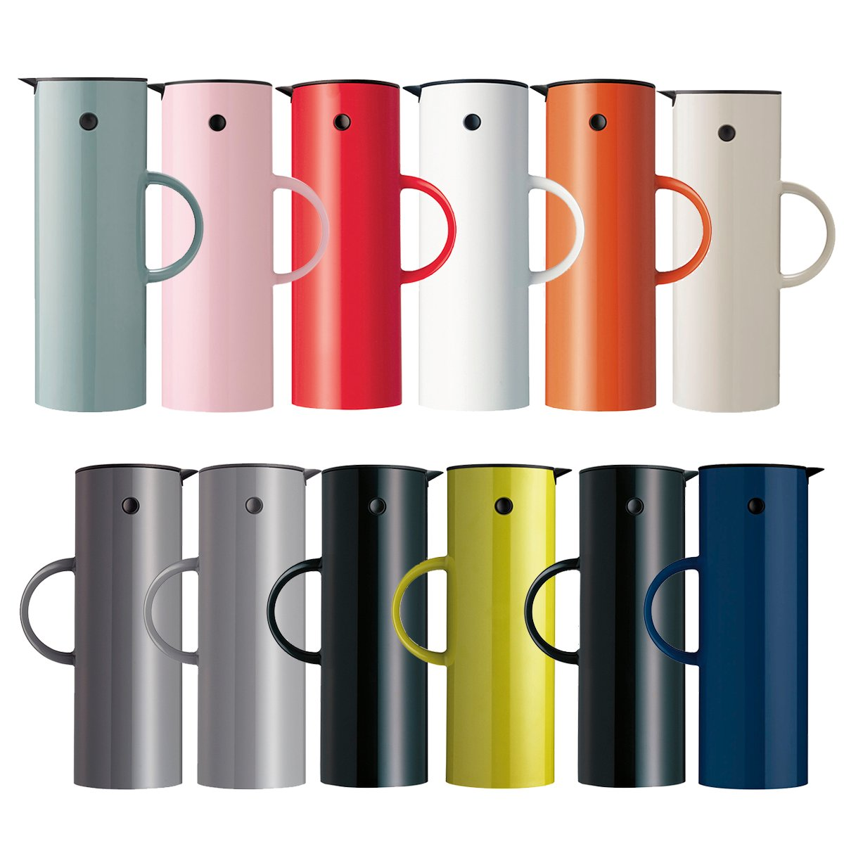stelton em77 vacuum jug 1l all colours panik design. Black Bedroom Furniture Sets. Home Design Ideas