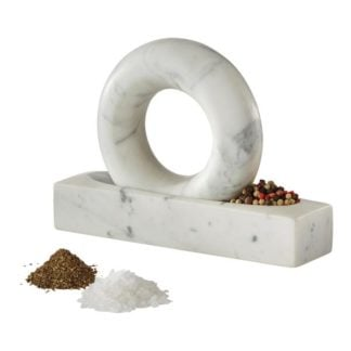 Design House Stockholm Tondo Marble Pestle and Mortar