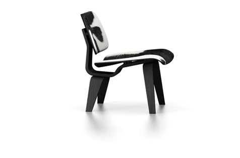 Vitra LCW Lounge Chair Calfskin