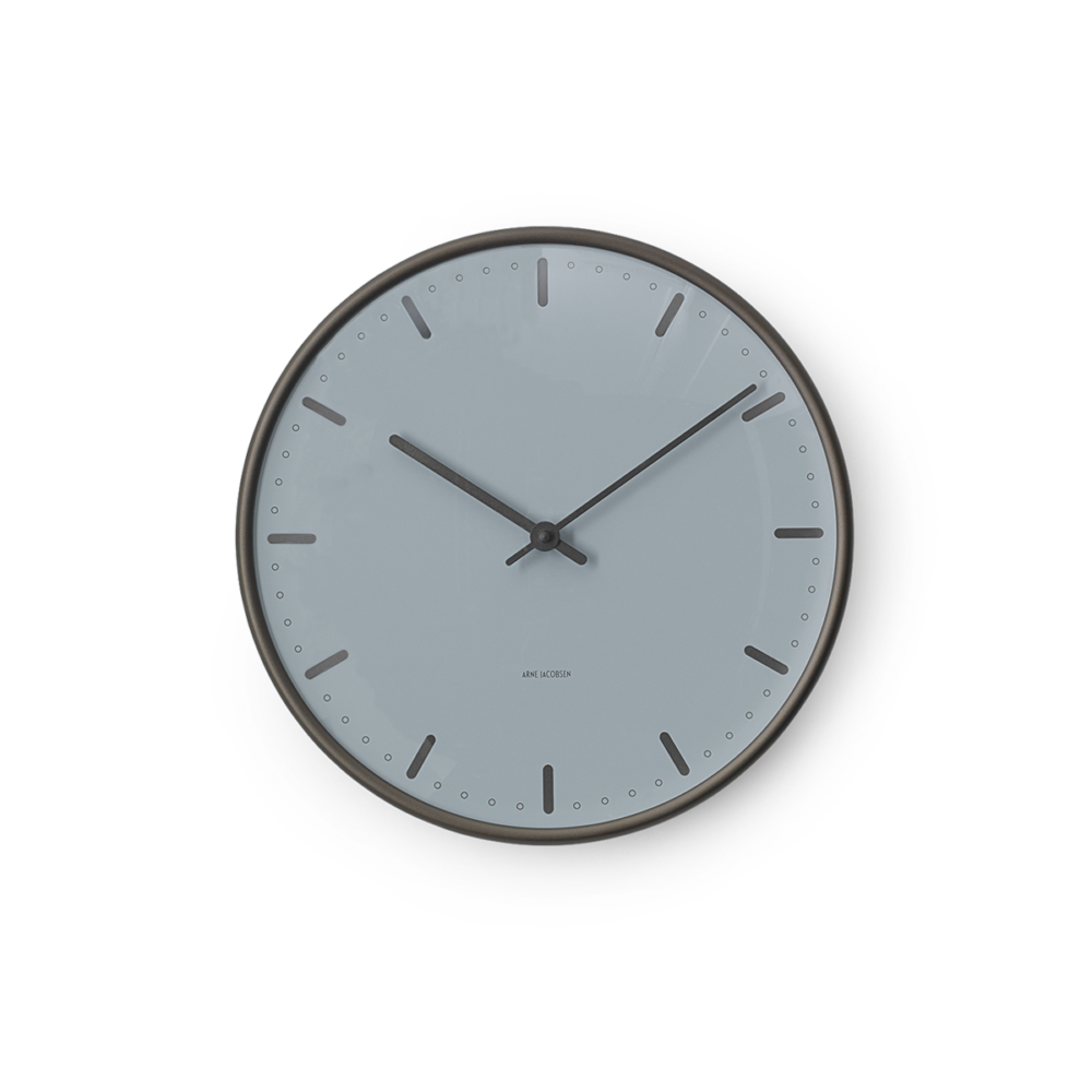 Arne Jacobsen City Hall Royal Wall Clock | Panik Design