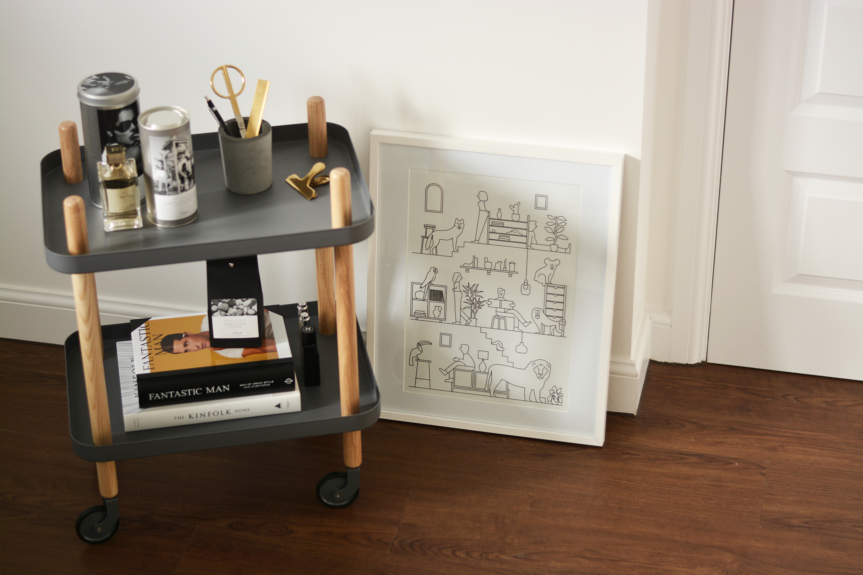 Normann Copenhagen Block Table Trolley