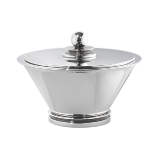 Georg Jensen Pyramid Sugar Bowl 600A Sterling Silver
