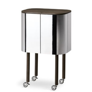 Northern Loud Mobile Bar Cabinet