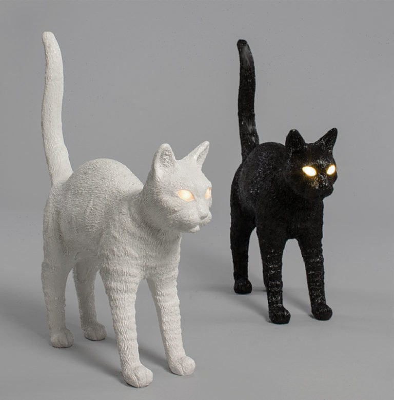 Seletti w Studio Job Jobby The Cat Lamp