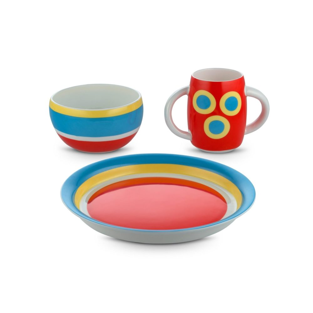 Alessi Children Tableware Alessini Con Centrici