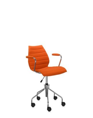 Kartell Maui Soft Swivel Armchair w Adjustable Height