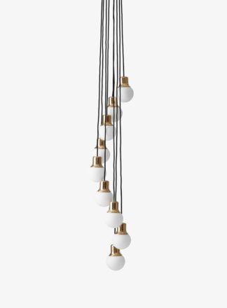 &Tradition Mass Chandelier NA5 Brass