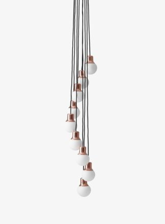 &Tradition Mass Chandelier NA5 Copper