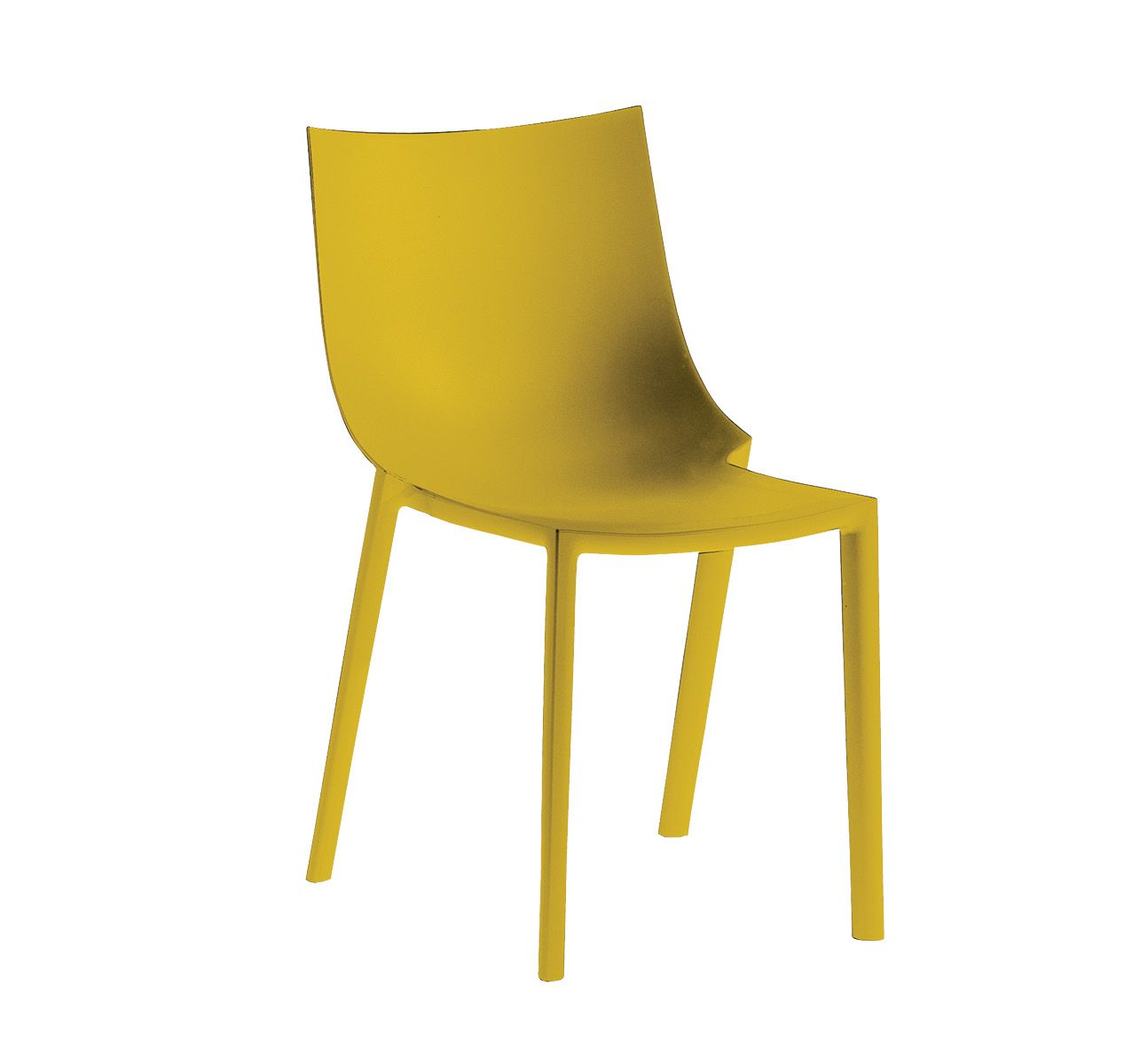 Light Yellow Bedroom Driade Bo Chair 4pcs Philippe Starck Panik Design