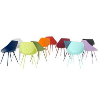 Driade Lago Chair Lacquered Philippe Starck