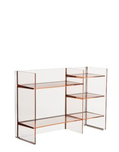 Kartell Sound Rack Shelving Nude
