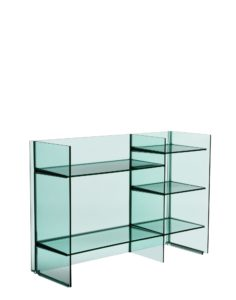 Kartell Sound Rack Shelving Aquamarine