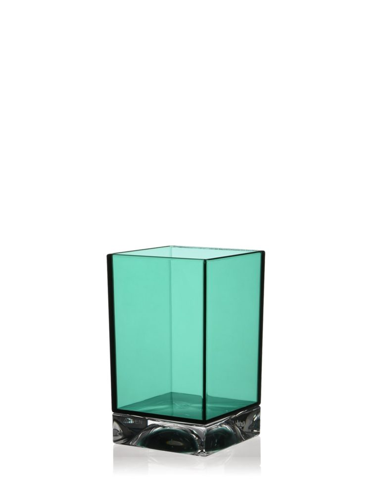 Kartell Boxy Toothbrush Holder Aquamarine