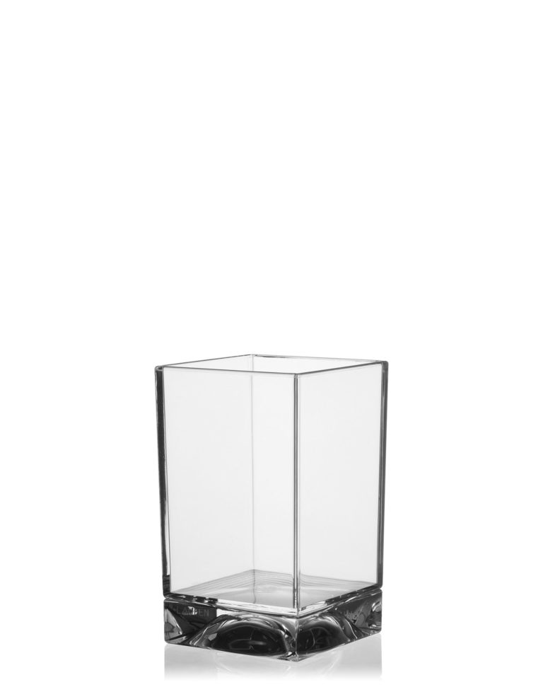 Kartell Boxy Toothbrush Holder Crystal
