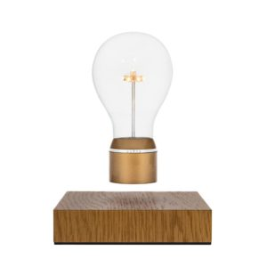 Flyte Royal Levitating Edison Table Light w Oak Base