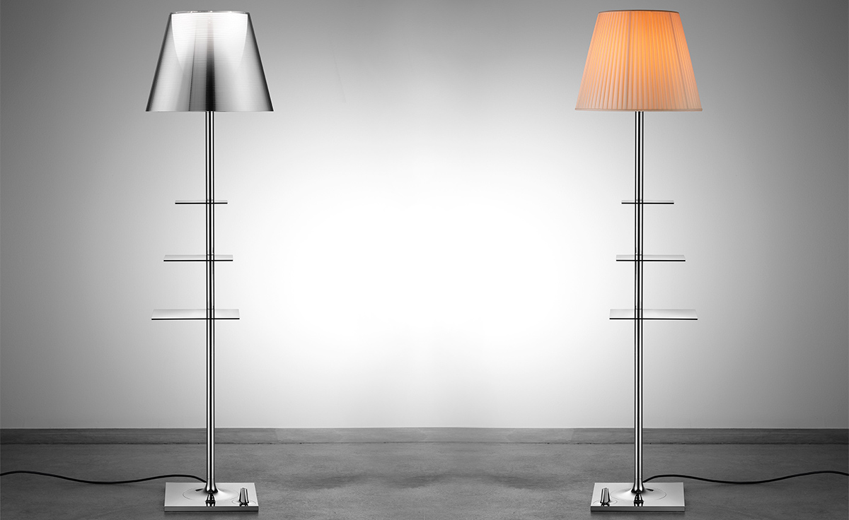 flos bibliotheque nationale floor light philippe starck. Black Bedroom Furniture Sets. Home Design Ideas