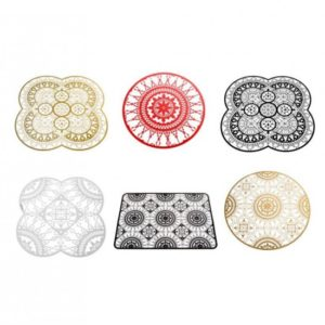 Driade Italic Lace Placemats and Coasters