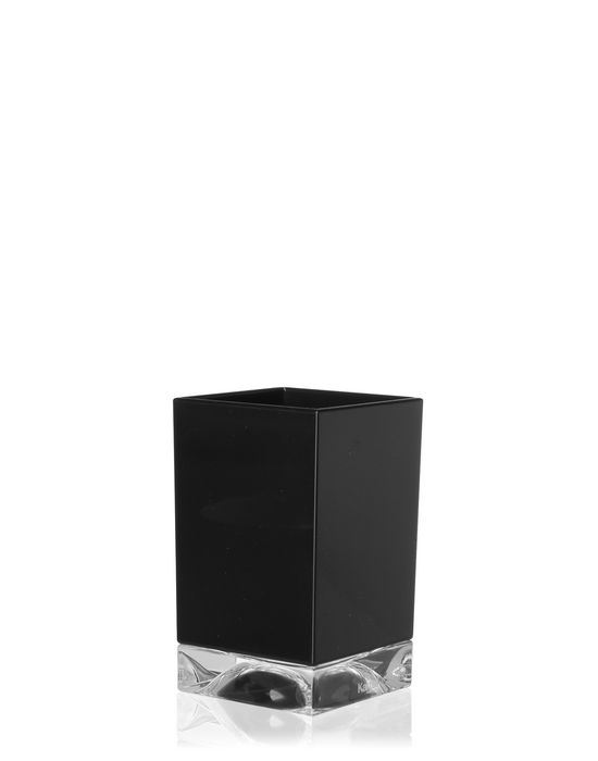 Kartell Boxy Toothbrush Holder Black