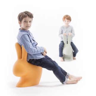 Qeeboo Rabbit Chair Baby Stefano Giovannoni