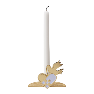 Stelton Christmas Pigeon Candle Holder