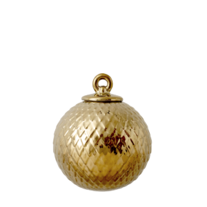 Lyngby Porcelain Christmas Decoration Bauble