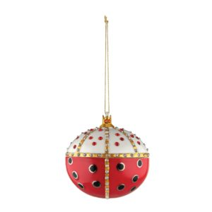 Alessi FaberJori Re Coccinello Christmas Ornament