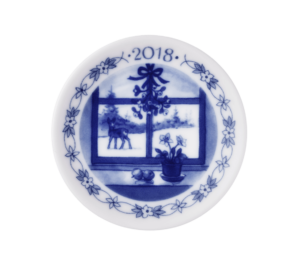 Royal Copenhagen Christmas Plaquette 2018