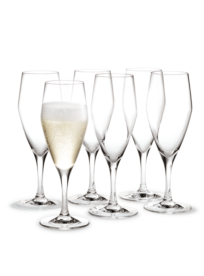 Holmegaard Perfection Champagne Glass 23cl 6pcs