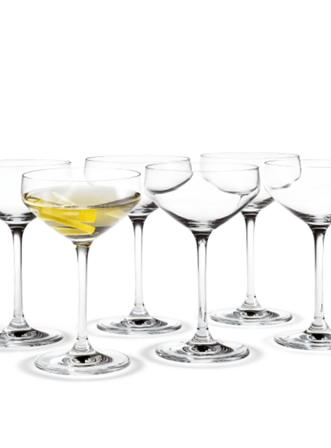 Holmegaard Perfection Martini Glass 29cl 6pcs