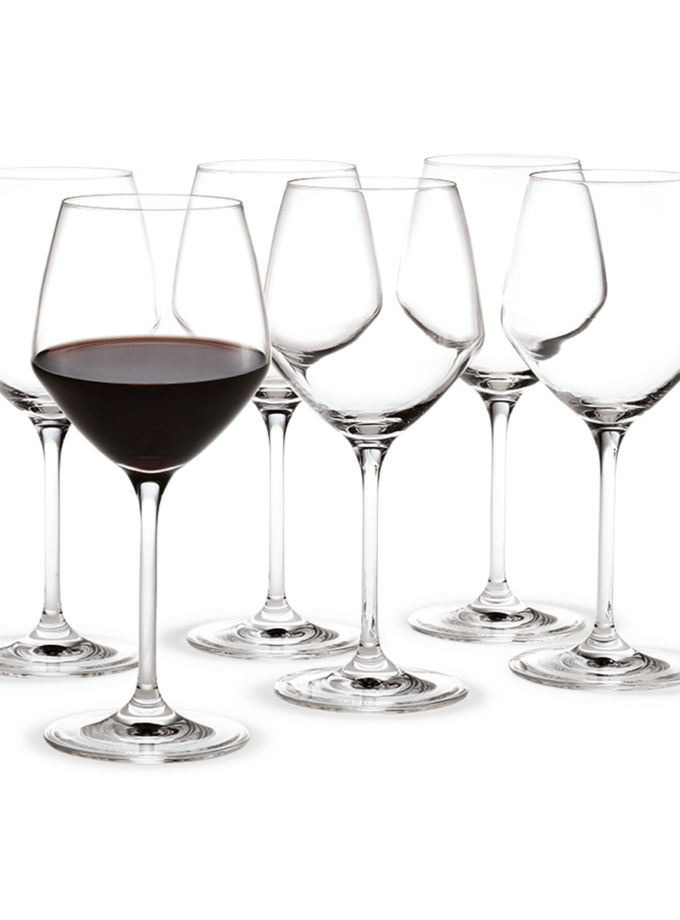 Holmegaard Perfection Red Wine Glass 43cl 6pcs