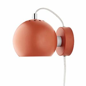Frandsen Matt Orange Magnet Wall Light