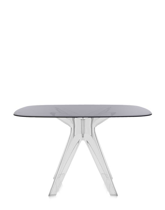 Kartell Sir Gio Square Dining Table Philippe Starck