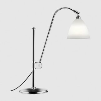 Bestlite BL1 Table Light Bone China w Chrome 1930