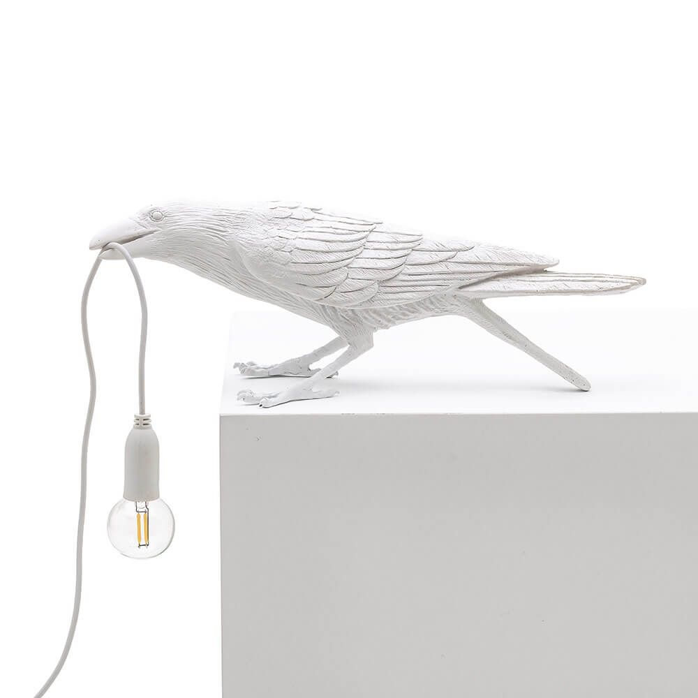 Seletti Playing Bird Table Light White