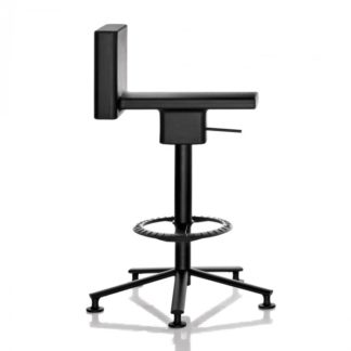 Magis 360° Adjustable Swivel Stool Black