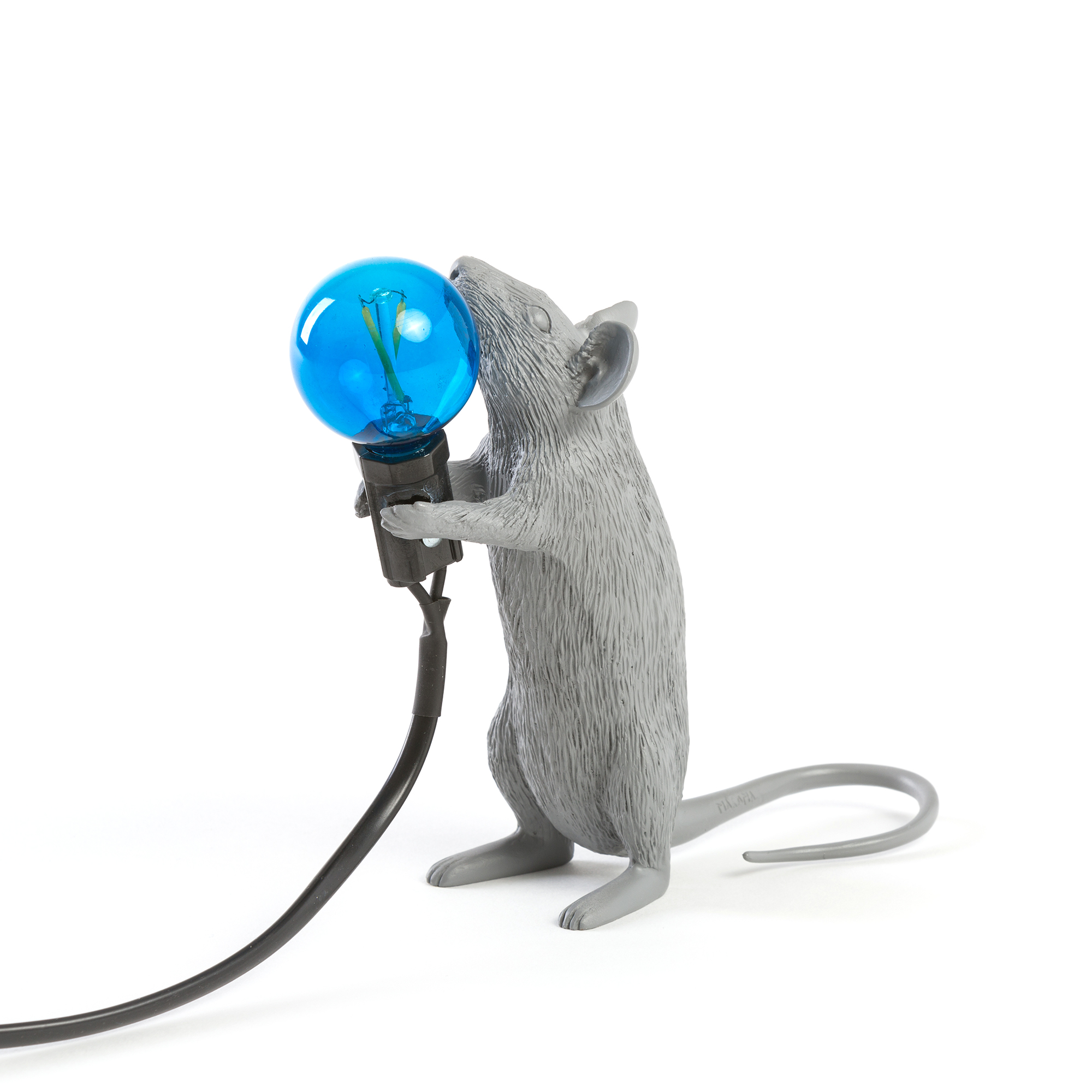 Seletti Mouse Standing Table Light Grey