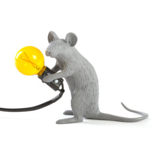 Seletti Mouse Sitting Table Light Grey