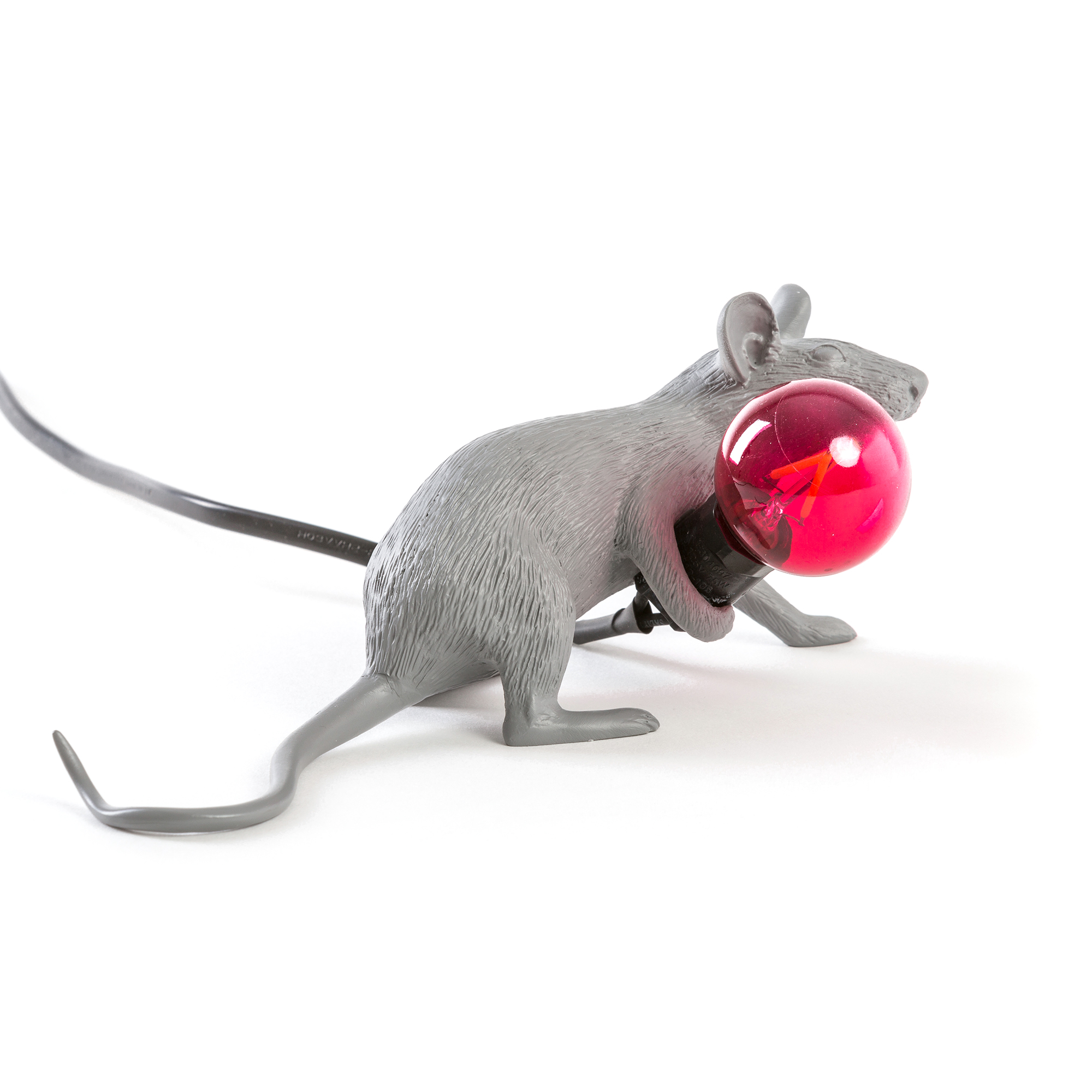 Seletti Mouse Lie Down Table Light Grey