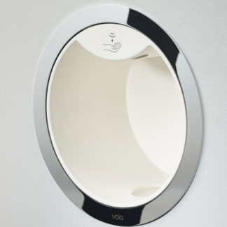 Vola Round Series Build-In Electronic Foam Soap Dispenser White
